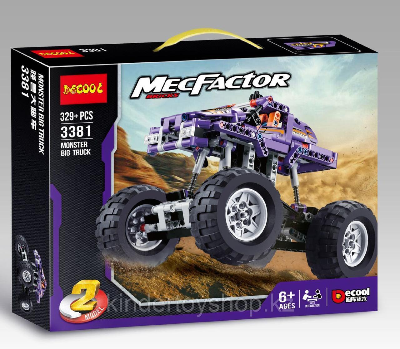 Конструктор Decool 3381 Monster Trucks Монстр грузовик аналог Лего Техник (LEGO Technic).