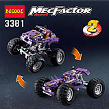 Конструктор Decool 3381 Monster Trucks Монстр грузовик аналог Лего Техник (LEGO Technic)., фото 2