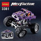 Конструктор Decool 3381 Monster Trucks Монстр грузовик аналог Лего Техник (LEGO Technic)., фото 6