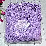 Наполнитель бумажный ровный и гофрированный Розовый, фото 4