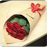 Крафт бумага для упаковки цветов , фото 2