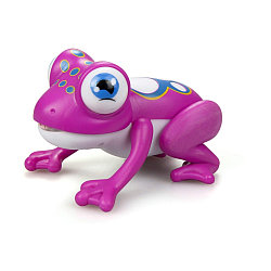 Silverlit Интерактивная игрушка Лягушка Глупи, розовая