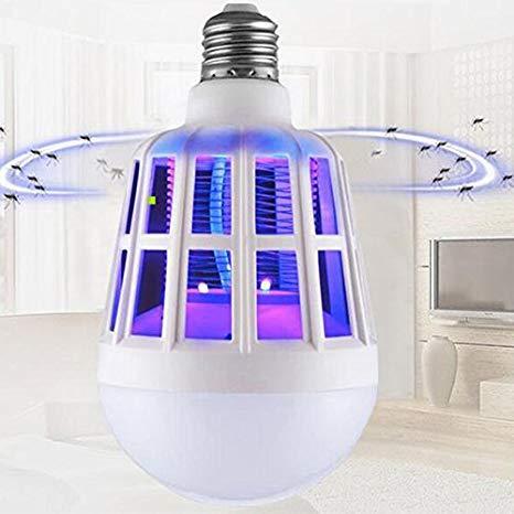 Светодиодная лампа - ловушка  от насекомых Mosquito Killer Lamp, 15Вт