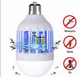 Светодиодная лампа - ловушка  от насекомых Mosquito Killer Lamp, 15Вт, фото 3