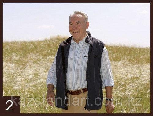 Портрет Президента Республики Казахстан