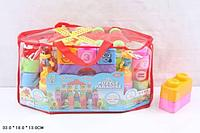 Конструктор для малышей 40 деталь, сумка.