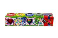 Пальчиковые краски для детей 4 цвета + Подарок