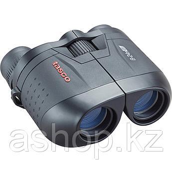 Бинокль туристический Tasco Essentials Porro 8-24x25, Сфера применения: Для охоты в рощах, Туризм, Цвет: Чёрны