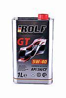 Моторное масло ROLF GT 5W-40 1литр