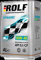 Моторное масло ROLF DYNAMIC 10W-40 4литра