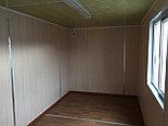 Вагончик, блок-модуль, Контейнер 40 ф жилой, бытовка, жилой дом из контейнеров, фото 2