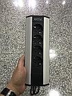 Удлинитель угловой 4 розетки AE-PBKT4S-80 (Schucko) серый, с проводом 1,5м GTV, фото 2