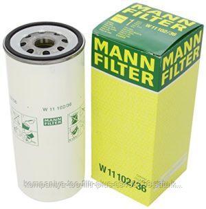 W1110236 Масляный фильтр MANN+HUMMEL