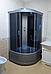 Душевая кабина Erlit ER3508P, 80х80 см, с серым поддоном, тонированным стеклом., фото 2