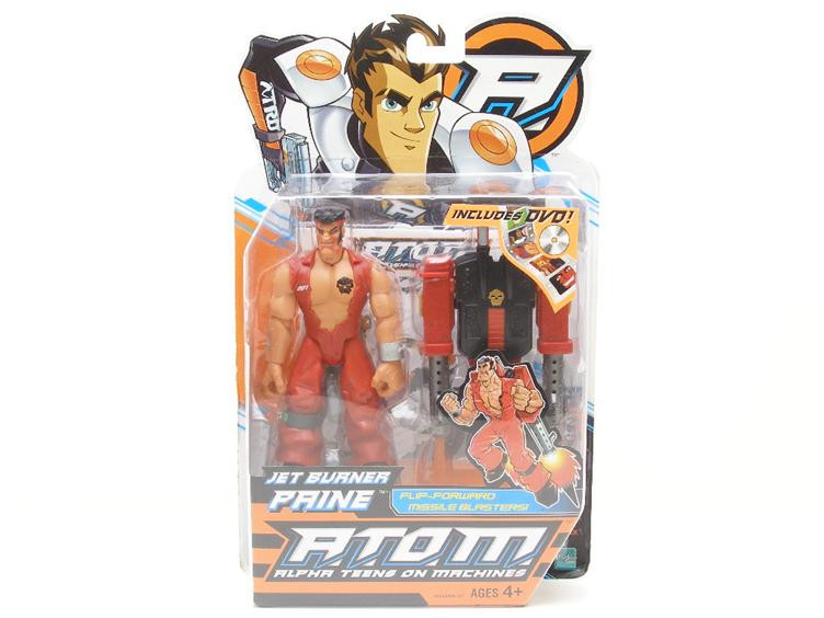 Hasbro Action Man Атом Jet Burner