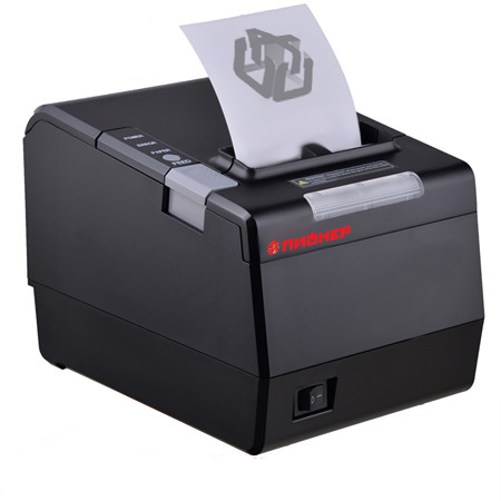 Принтер чеков Пионер RP850USE (USB, RS232, LAN)