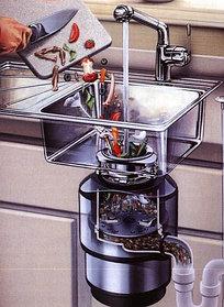 Измельчители пищевых отходов In-Sink-Erator