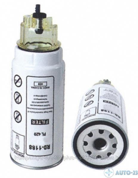 PL420 Топливный фильтр MANN+HUMMEL