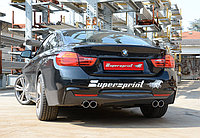 Выхлопная система Supersprint на BMW 4 F32