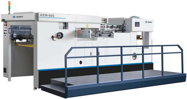 Автоматический плоско-высекальный пресс AOER AEM-800