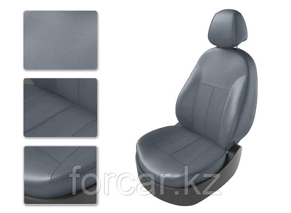 Чехлы модельные TOYOTA LC PRADO 150 5м из 7 серый/серый/серый , фото 2