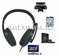 Игровая головная гарнитура наушники с микрофоном KOMC K4