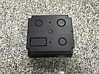 Настольный бокс на 4 модуля, черный (розетка в столешницу), фото 5
