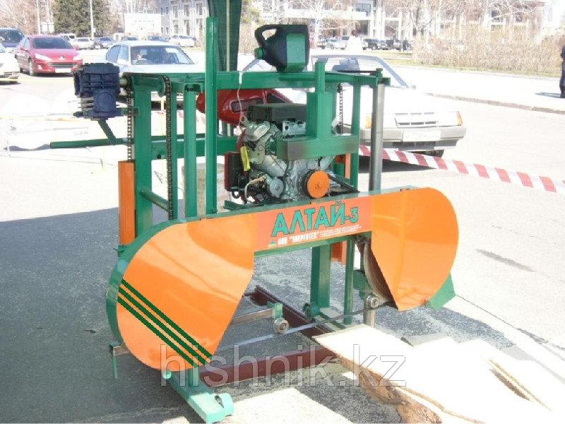 Пилорама ленточная Алтай -3 (700) Хонда