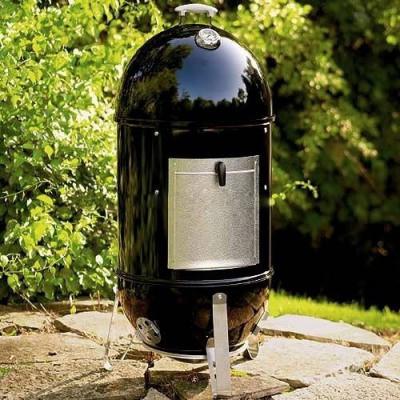 Коптильня угольная Smokey Mountain Cooker 47 см, ЧЕРНЫЙ