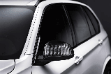 Накладки зеркал BMW X5 F15 CARBON , фото 2