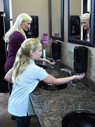 автоматический диспенсер для мыла в картриджах чёрного цвета tprk