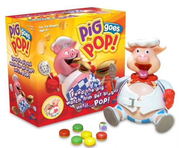 Hasbro games PIGGY POP СВИНКА