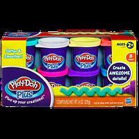 Hasbro Play-Doh Plus Набор из 8 банок пластилина