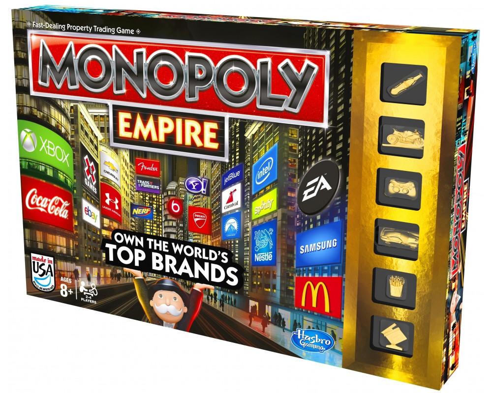 Hasbro games Monopoly Империя Gold
