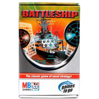 Hasbro games морской бой travel