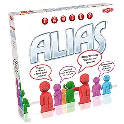 """Games Tactic Настольная игра """"Скажи иначе"""" для всей семьи, Alias Family"""