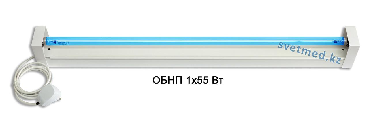 Облучатель бактерицидный настенный ОБНП 1х55 Вт