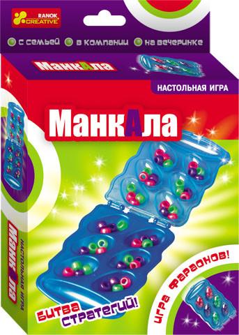 """Ranok 8081 Настольная игра """"Манкала"""""""