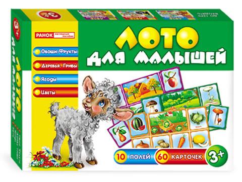 Ranok 3969a Лото для малышей