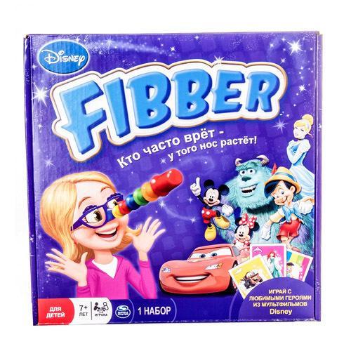 Spin Master настольная Disney FIBBER