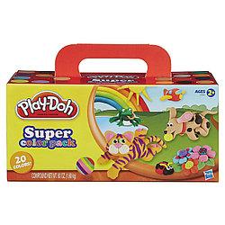 Hasbro Play-Doh Творческий набор из 20 банок, Плей До