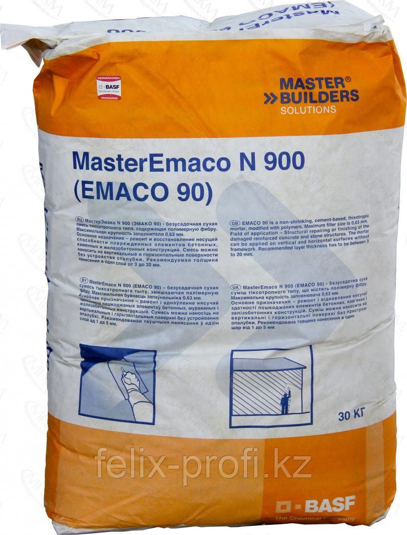 MasterEmaco N 900 - укрепленный полимерными фибрами ремонтный раствор для финишного выравнивания бетонной и же