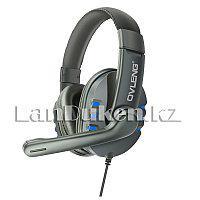 Игровая головная гарнитура наушники с микрофоном OVLENG X6