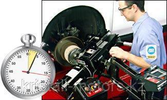 Проточка тормозных дисков на оборудовании HUNTER USA