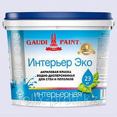 """Краска для стен и потолков """"Интерьер Эко""""  7 кг"""