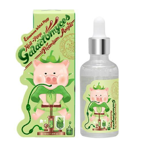 Elizavecca Сыворотка с 97% Галактомисиса Piggy Hell-Pore Galactomyces Premium Ample 50мл.