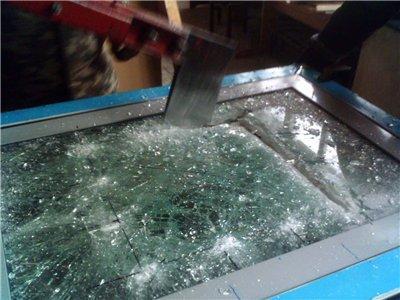 Бронированое пулестойкое стекло класса БР4