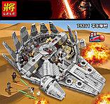 Конструктор lepin Lele 79211 - аналог лего Lego 75105 Star Wars Сокол Тысячелетия, фото 2
