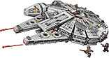 Конструктор lepin Lele 79211 - аналог лего Lego 75105 Star Wars Сокол Тысячелетия, фото 3