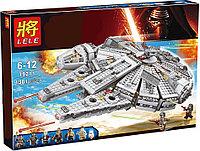 Конструктор lepin Lele 79211 - аналог лего Lego 75105 Star Wars Сокол Тысячелетия